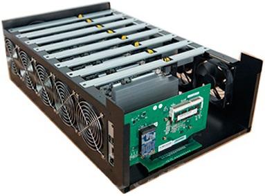 Купить Майнинг ферму 8 card GAINWARD, pentium g4560 MSI pentium g4560 с проверкой и гарантией