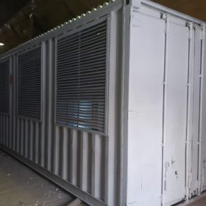 Контейнер для майнинга на базе 20-ти футового морского контейнера на 96 асиков или 48 майнинг фермы купить в Москве.